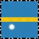 Nauru National Country Icon