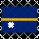 Nauru Flag Flags Icon