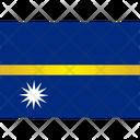 Flag Country Nauru Icon