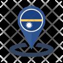 Nauru Flag Icon