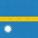 Nauru Flag World Icon
