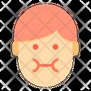 Nausea Emotion Face Icon