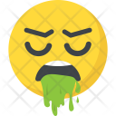 Nauseated emoji Icon
