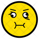 Nauseous Face Emotion Icon