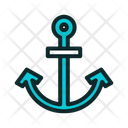Nautic Anchor Ship Equipment Marine Equipment Icon