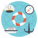 Nautical Equipment Sea Icon