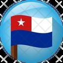 Naval Jack Of Cuba Icon