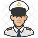 Naval Male Officers Naval Officers Icon