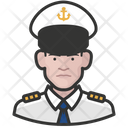 Naval Officers White Male Naval Officers Icon