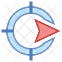 Navigate Direction Tag Icon