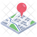 Map Pin Location Pin Navigation Icon