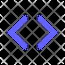 Navigation Code Arrow Icon