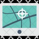 Online Navigation Destination Icon