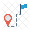Navigation Map Destination Icon