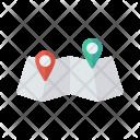 Navigation Map Pin Icon