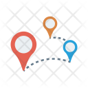 Navigation Map Position Icon