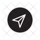 Navigation Direction Compass Icon