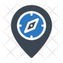 Map Navigation Compass Icon