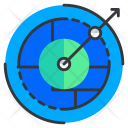 Navigation Direction Radar Icon
