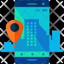 Mobile Phone Navigation Icon