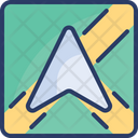 Navigation Gps Route Icon