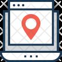 Navigation Online Location Icon