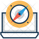 Tracking Location Compass Icon
