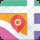 Map Navigation Location Icon