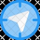 Navigation Target Location Icon