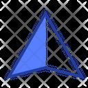 Navigation Cursor Route Icon