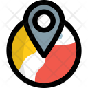 Geolocation World Geographic Icon