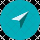 Navigation Cursor Send Icon