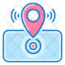 Navigation Location Mobile Phone Icon