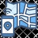 Navigation Map Smart Icon