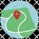 Navigation Map Location Icon