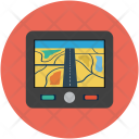 Map Device Mobile Icon