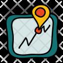 Navigation Mobile Gps Icon