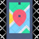 Navigation Smart Phone Location Icon