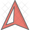 Navigation Arrow Location Icon
