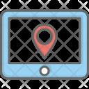 Tablet Navigation Location Icon