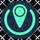 Navigation Geo Position Icon