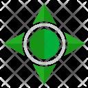 Navigation Compass Ways Icon