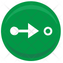 Road Motion Sign Icon
