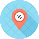 Navigation Pin Location Icon