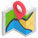 Address Icon in Isometric Style