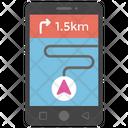 Mobile Navigation Gps Navigator Icon