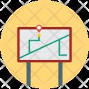 Navigation Board Guide Icon