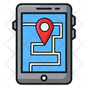 Navigation App Map Navigation Location App Icon