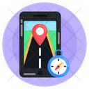 Location App Navigation App Online Location Icon