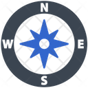 Navigation Wind Compass Icon